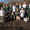 Year 5 have just planted this year's potato crop