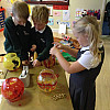Making Chinese Lanterns for the Garden