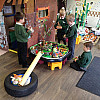 Year 1 and Year 2 Children in the EcoPod