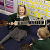 The Sitar Is Almost Bigger Than Me!!