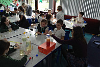 Making Lava Lamps with the Student Teachers