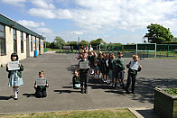 We looked at the length of the River Wyre, River Ribble, River Thames and the River Nile.
